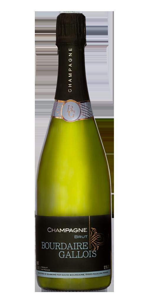 Champagne brut tradition - Bourdaire Gallois